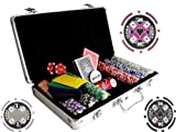300 pc 11.5g Poker Chip Set w/ Free Case