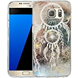 S7 Case Starry Dream Catcher, LAACO Scratch Resistant TPU Gel Rubber Soft Skin Silicone Protective Case Cover for Samsung Galaxy S7