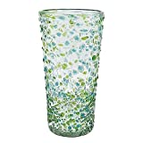 The CONFETTI Green Ice-Tea 16oz Glass by Mariposa -