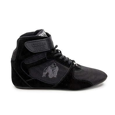 comprare on line 3ffbe 46333 Gorilla Wear Perry High Tops PRO - Black/Black - Nero/Nero - Bodybuilding  und Fitness Scarpe per Uomini Donne