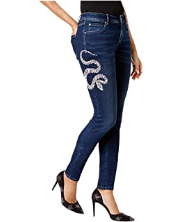 be42c147eb3 INC International Concepts Anna Sui Loves Embellished Skinny Jeans
