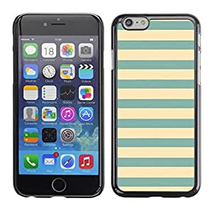 SKCASE Center / Funda Carcasa - Verde Azul Vignette Líneas;;;;;;;; - Apple Iphone 6 Plus 5.5