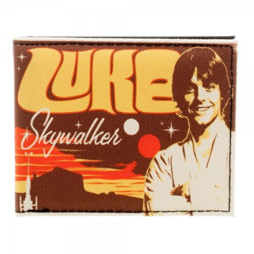 Star Wars Luke Skywalker Retro Sublimated Bi-Fold -