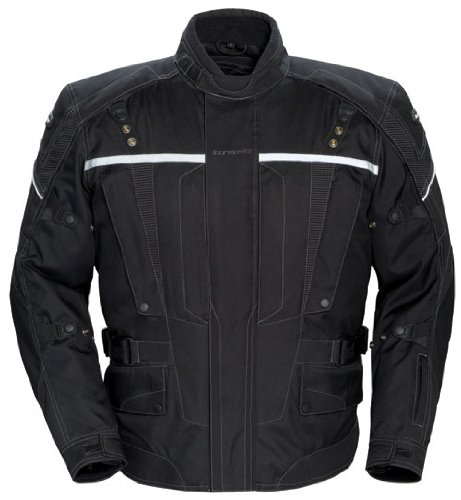 Tourmaster Transition Series 2 Womens Motorcycle Jacket Black (Transition Series 2 Jacket)