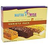 NutriWise – Variety Pack Crispy Diet Protein Bars (7 bars) Review