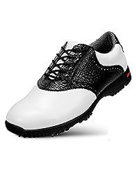 DANCHEL Men's Waterproof Golf Shoes