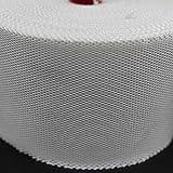 "YIKAI Fiberglass Cloth Tape, Glass Fiber Mesh Joint Tape Plain Weave Reinforcement E-Glass Size 4"" x"