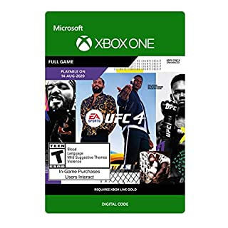 EA SPORTS UFC 4 Standard Edition - Xbox One [Digital Code]