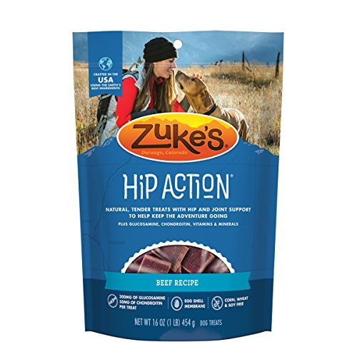 Zuke's Hip Action Beef Recipe Dog Treats - 16 oz. Pouch (package may - Shops Cherry Creek
