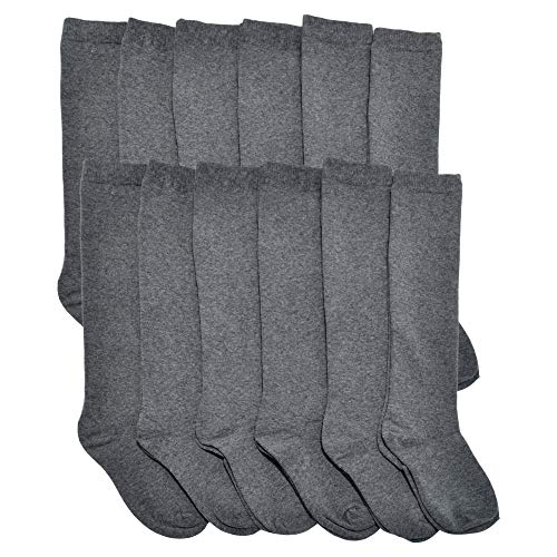 - Angelina Cotton Classic Uniform Knee-High School Socks (12-Pairs), 3102_S