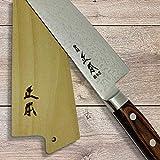 MASAMOTO Gyuto Saya Chefs Knife Sheath Wooden Blade