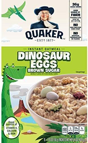 Oatmeal: Quaker Instant Dinosaur Eggs