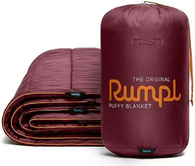 Rumpl Original Couverture Double Taille-Travelling /& Camping Couverture-Charbon//Cyan