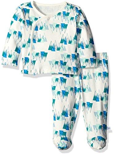 Rosie Pope Baby Kimono Set, Marshmallow, 3-6 Months