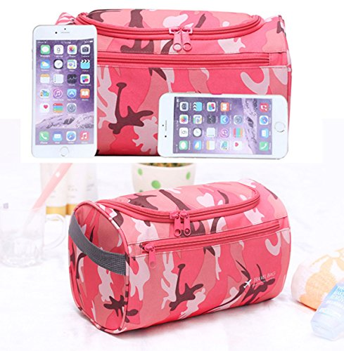 78876ebbc6 Amazon.com  SupaModen Men and Women s Travel Toiletry Bag Overnight Wash  Gym Shaving Bag Travel Folding Make up Bags with Hook Organizer Bags  Cosmetic Bags ...