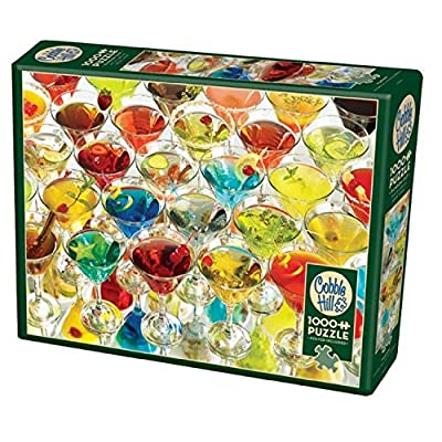 Cobblehill 80121 1000 pc Martinis! Puzzle, Various: Toys & Games