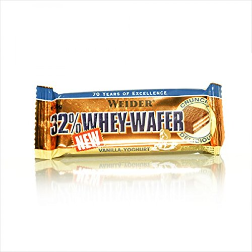 Weider 32% Whey-Wafer (30 x 35g Riegel Box) BIG BOX , MIX BOX
