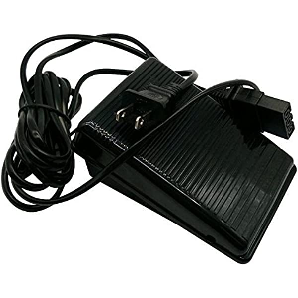 evernice Foot Control Pedal W Cord for Brother Pq1300 1500,Se270D 350,Star140E #Xc6651121