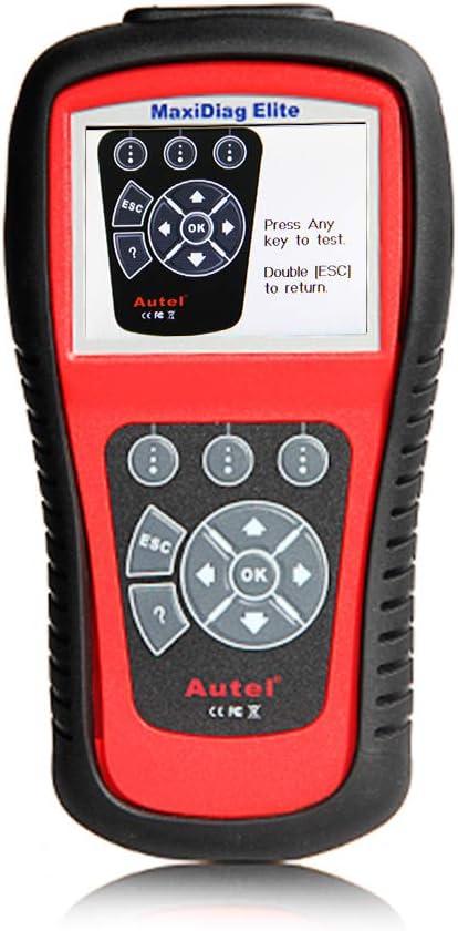 Autel Md802 Obd2 Diagnosegerät Fehlecode Von Alle System Z B Abs Srs Usw Auslesen Und Löschen Öl Und Epb Reset Unterstützen Auto