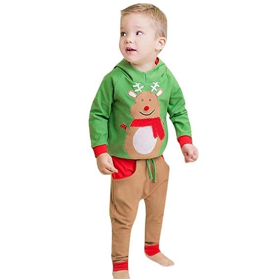 K-youth Disfraz Navidad Niño Bebe 6 Meses a 4 Años Conjunto Bebe ...