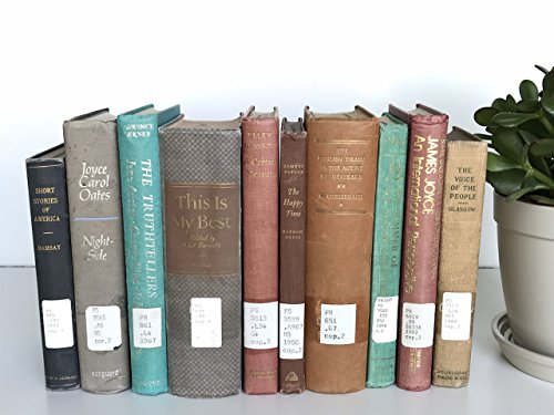 Former Library Books | Vintage Decorative Books | Used Thrift Bulk Ex-Library | Antique Home Decor | Choose Your Colors | Create Your Own Set | Fill a Bookshelf, Shelfie, (Office Furnishings Decor)