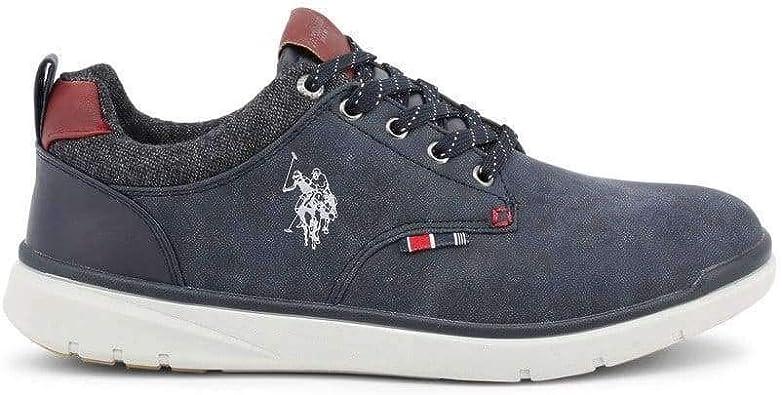 U.S. Polo Sneaker YGOR4082W8 Hombre Color: Azul Talla: 45 ...