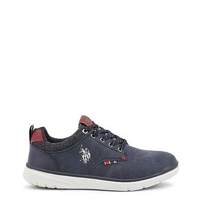 U.S. Polo Sneaker YGOR4082W8 Hombre Color: Azul Talla: 40: Amazon ...