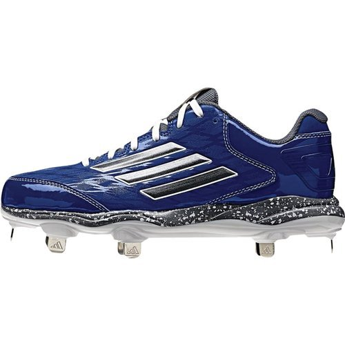adidas Performance Damen PowerAlley 2 W Softball Cleat Royal-Kohlenstoff Met-onix