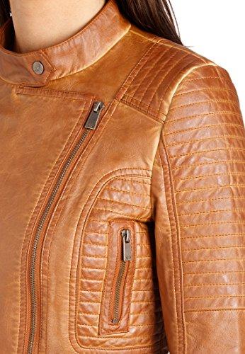 058 Marrone Preussen Aus Denver Giacca Donna Fritzi camel 0ZwqXx