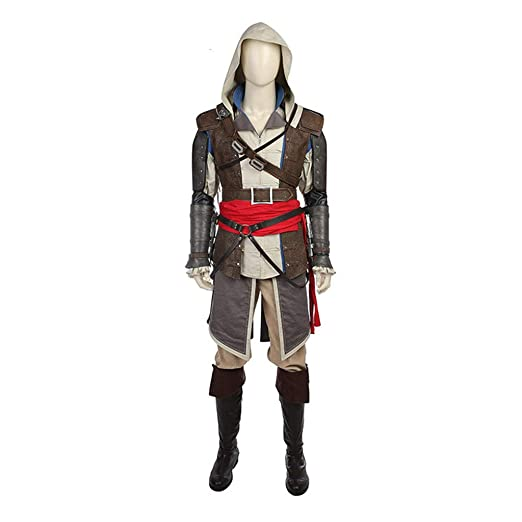 nihiug AssassinS Creed 4 Black Flag Game Complete Cos Costume ...