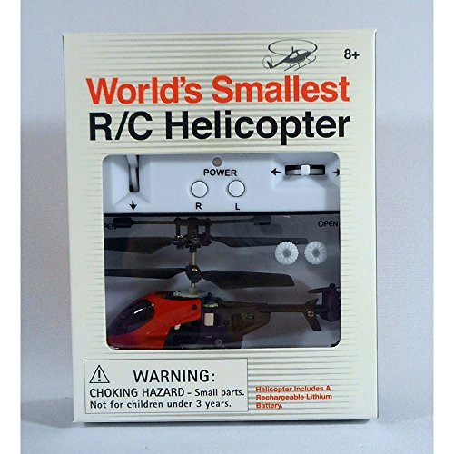 World's Smallest Remote Controlled Helicopter - Fly Solo Or Race w/ Friends