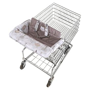 Feeding Baby Eddie Bauer Baby Clean Seat Shoppingcart And High Chair Cover New Boxed A Great Variety Of Goods