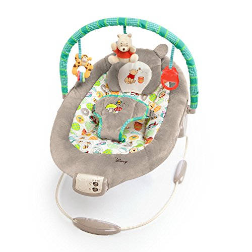 Disney Baby Winnie The Pooh Bouncer, Dots and Hunny - Mobile Dot