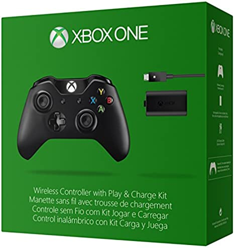 Microsoft - Pack Mando Wireless + Kit Carga Y Juega - Nueva ...