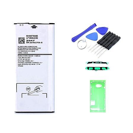 kaputt.de AKKU Set Batterie für Samsung Galaxy A7 (2016)| 3000 mAh | 3,8 V | EB-BA710ABE | Reparaturset
