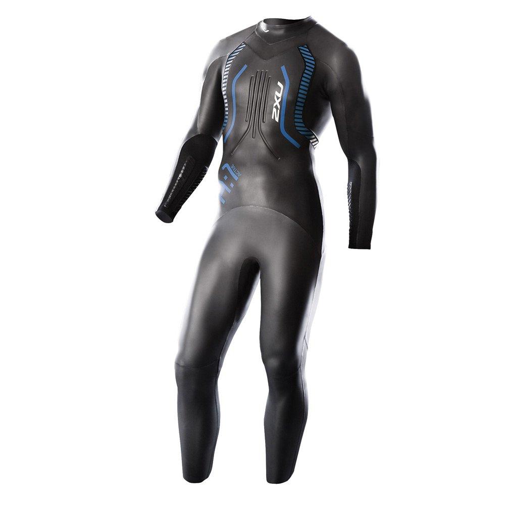 tehdashinta uskomattomia hintoja paras valinta 2XU Men's A:1 Active Triathlon Wetsuit, Black/Vibrant Green