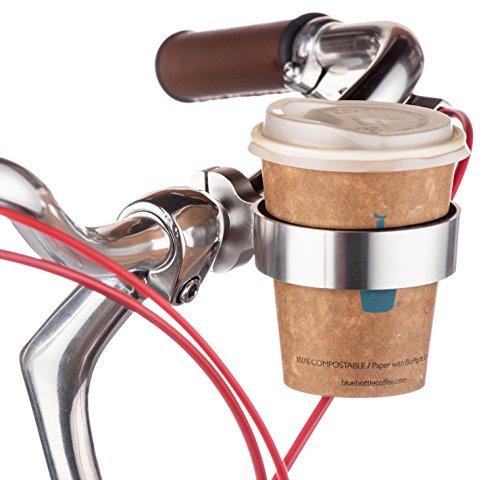 PUBLIC Bikes Trieste Coffee Cup Holder, Silver