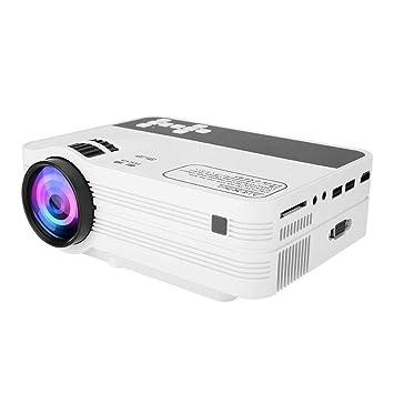 Bewinner Proyector Full HD LED, Proyector de Video 3D de 5500 ...
