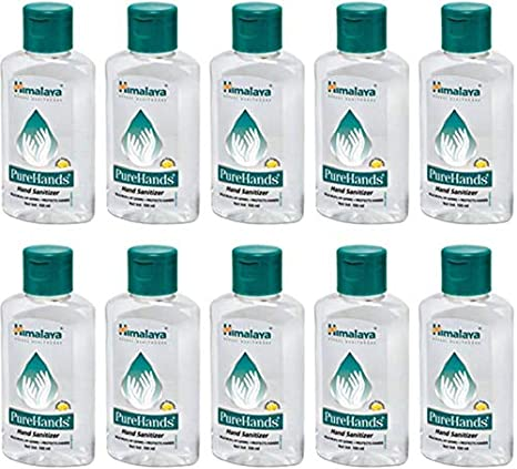 Buy Himalaya Pure Hands Hand Sanitizer Orange 100ml Bottle