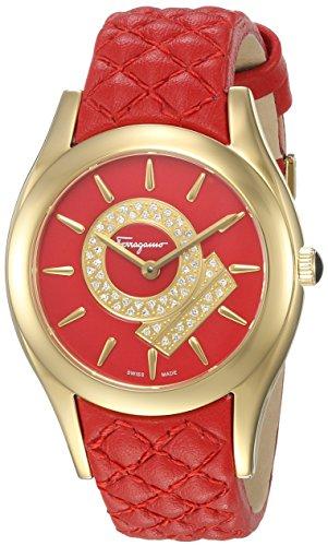 Salvatore-Ferragamo-Womens-FG4070014-Lirica-Analog-Display-Quartz-Red-Watch