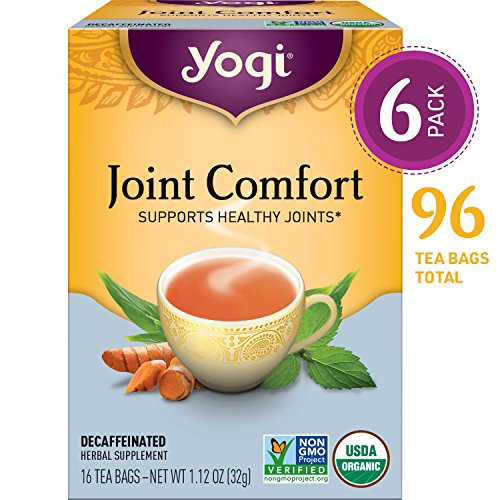 Yogi Tea   Joint Comfort   Supports Healthy Joints   6 Pack  96 Tea Bags Total