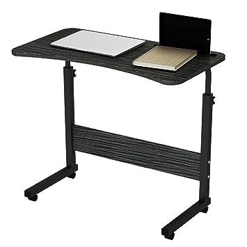 Amazon.com: Mesa portátil NSS que se puede mover mesita de ...