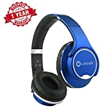 Woozik Twist 2-in-1 Hybrid Bluetooth Headphones with Twist out Speakers, Built-in Mic, FM Radio, SD Card Slot and AUX