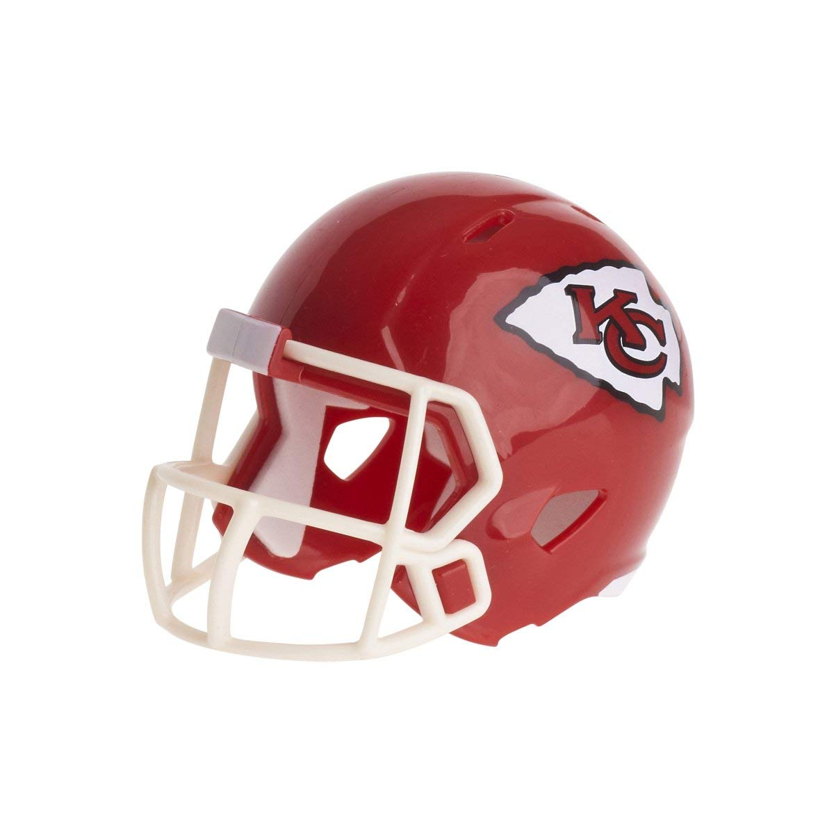Riddell Mini-American-Football-Helm, NFL-Team: Kansas City Chiefs, im Taschenformat, Speed Pocket 095855320625