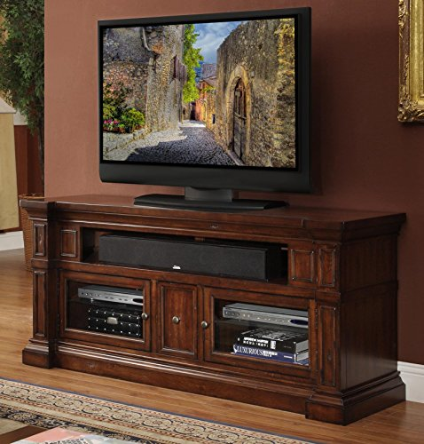 Legends Berkshire 62 in. Media Console - Old World Umber (Legends Console compare prices)