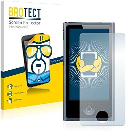 BROTECT Schutzfolie kompatibel mit Apple iPod Nano 2012 (7. Generation) (2 Stück) klare Displayschutz-Folie