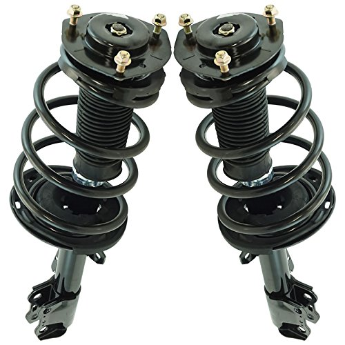 Front Complete Quick Strut & Spring Assembly LH RH Kit Pair for Highlander SUV (Assembly Strut Quick)