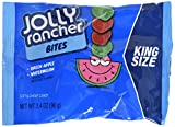Jolly Rancher Chewy Candy Bites, Green Apple, Watermelon, King Size (Pack of 12)