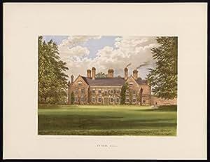 Diseño de-Nether en la parte superior del hall-thurston-suffolk - Morris-Fawcett-Lydon-1880
