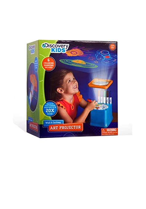 amazon com discovery kids wall and ceiling art projector with